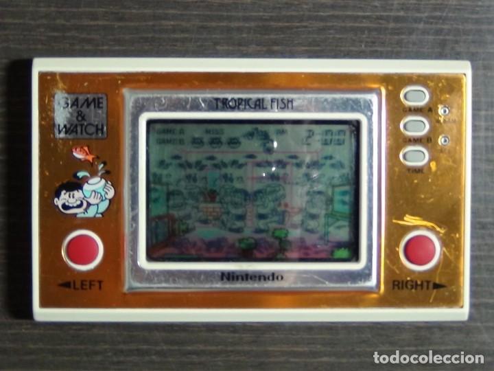 Videojuegos y Consolas: Game & Watch - Tropical Fish - Nintendo - TF-104 VER VIDEO!!!! - Foto 3 - 135150790