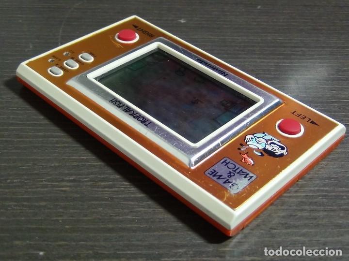 Videojuegos y Consolas: Game & Watch - Tropical Fish - Nintendo - TF-104 VER VIDEO!!!! - Foto 5 - 135150790