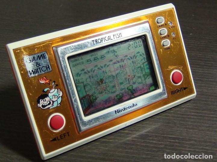 Videojuegos y Consolas: Game & Watch - Tropical Fish - Nintendo - TF-104 VER VIDEO!!!! - Foto 6 - 135150790