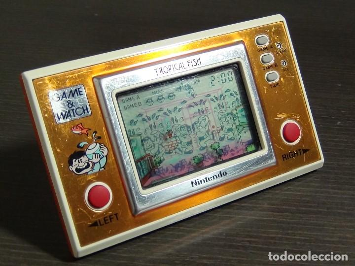 Videojuegos y Consolas: Game & Watch - Tropical Fish - Nintendo - TF-104 VER VIDEO!!!! - Foto 8 - 135150790