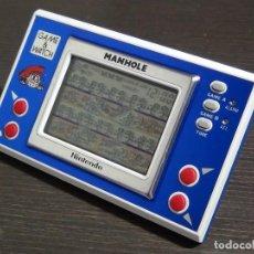 Videojuegos y Consolas: GAME & WATCH - MANHOLE - NINTENDO - NH-103 VER VIDEO!!!!!. Lote 135151170