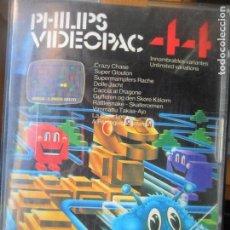 Videojuegos y Consolas: PHILIPS VIDEOPAC, 44 JUEGOS - CARTUCHO PAL -. Lote 135238142