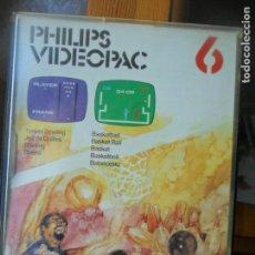 Videojuegos y Consolas: PHILIPS VIDEOPAC 6, 9 JUEGOS DE DEPORTES - CARTUCHO PAL -. Lote 135238286