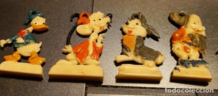 Videojuegos y Consolas: muñeco disney lote de 8 muñecos de punto blanco miniaturas años 60 - Foto 3 - 135536498