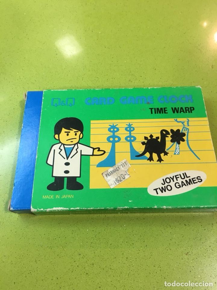 Videojuegos y Consolas: Game watch q&q túnel del tiempo, card game clock,Nintendo,bandai,sega,Casio,juguete antiguo,egb - Foto 2 - 135997276