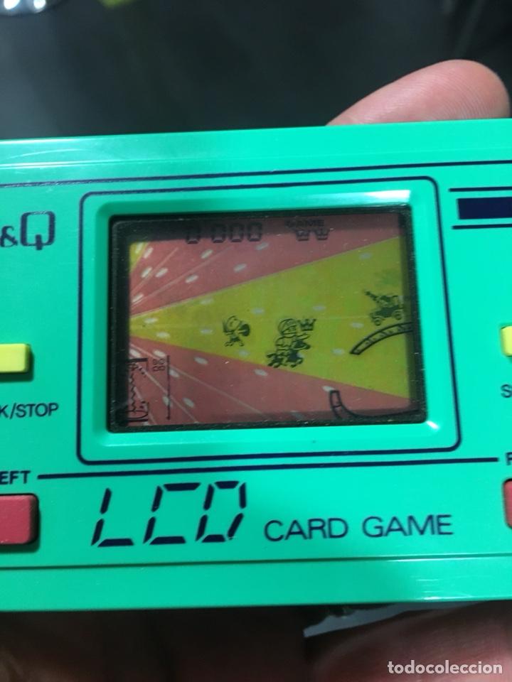 Videojuegos y Consolas: Game watch q&q túnel del tiempo, card game clock,Nintendo,bandai,sega,Casio,juguete antiguo,egb - Foto 3 - 135997276
