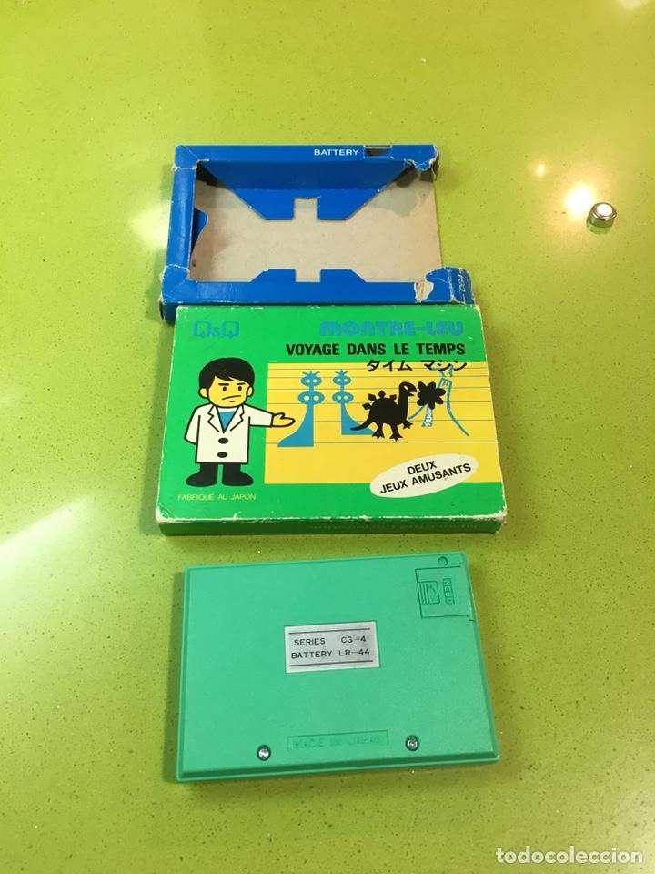 Videojuegos y Consolas: Game watch q&q túnel del tiempo, card game clock,Nintendo,bandai,sega,Casio,juguete antiguo,egb - Foto 4 - 135997276