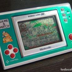 Videojuegos y Consolas: NINTENDO GAME & WATCH DONKEY KONG JR. DJ-101 VER VIDEO!!!!. Lote 136184362
