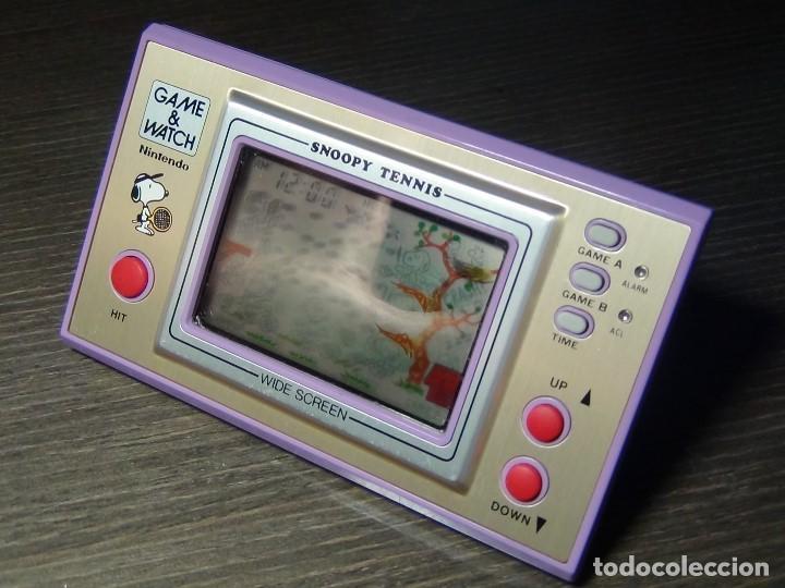 Videojuegos y Consolas: Nintendo game & watch Snoopy Tennis - VER VIDEO!!!! - Foto 3 - 136200422