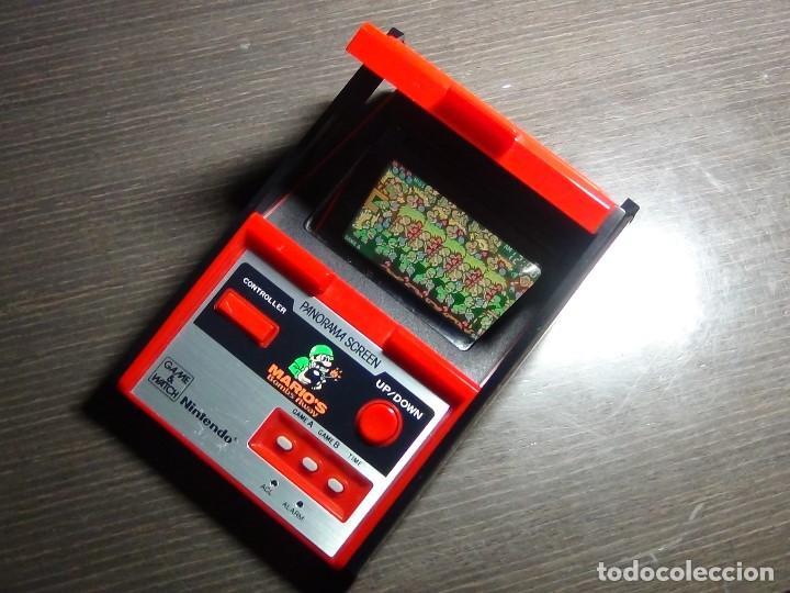 NINTENDO GAME & WATCH - MARIO 'S BOMBS AWAY PANAROMA SCREEN TB - 94 (Juguetes - Videojuegos y Consolas - Otros descatalogados)