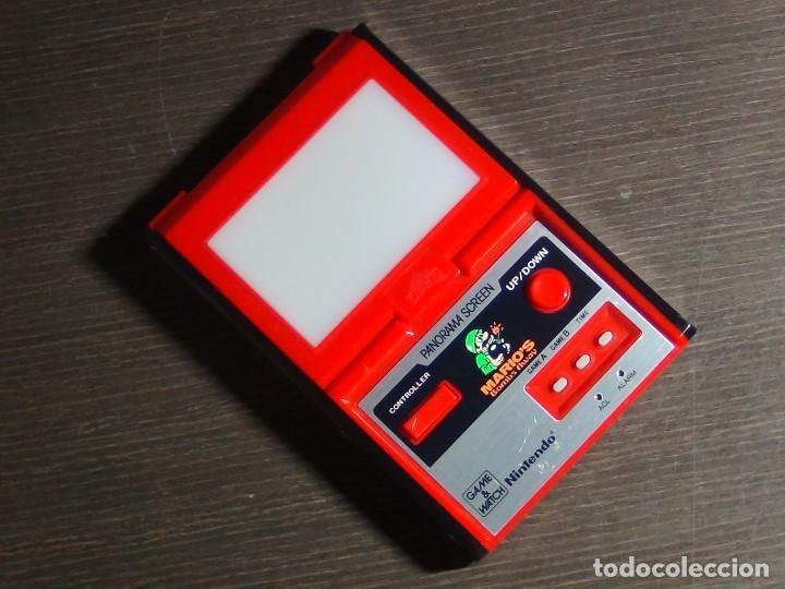 Videojuegos y Consolas: Nintendo Game & Watch - Mario s bombs Away Panaroma Screen TB - 94 - Foto 2 - 136209306