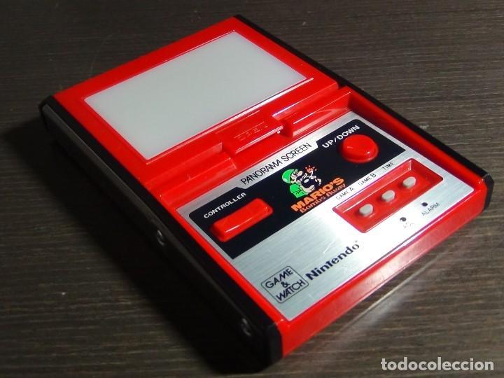 Videojuegos y Consolas: Nintendo Game & Watch - Mario s bombs Away Panaroma Screen TB - 94 - Foto 3 - 136209306