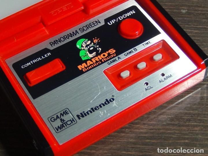 Videojuegos y Consolas: Nintendo Game & Watch - Mario s bombs Away Panaroma Screen TB - 94 - Foto 4 - 136209306