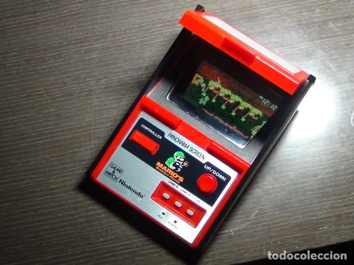Videojuegos y Consolas: Nintendo Game & Watch - Mario s bombs Away Panaroma Screen TB - 94 - Foto 8 - 136209306