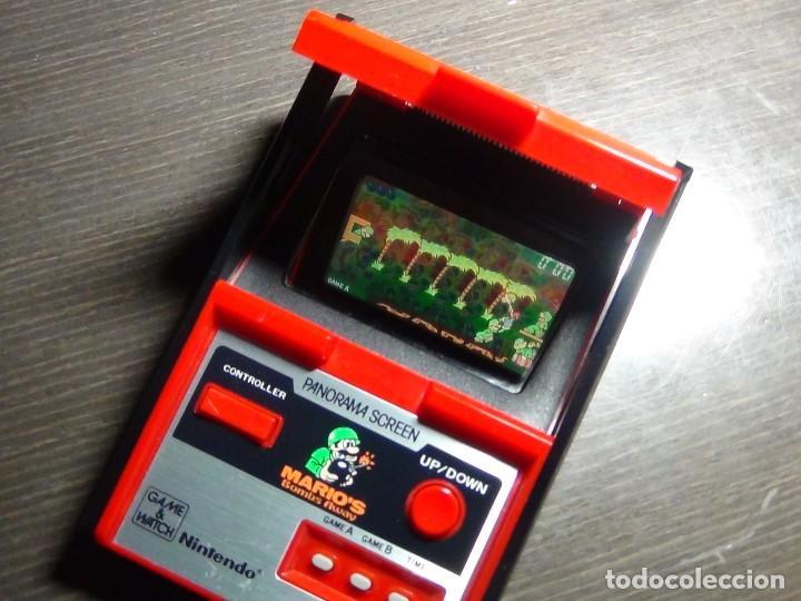 Videojuegos y Consolas: Nintendo Game & Watch - Mario s bombs Away Panaroma Screen TB - 94 - Foto 13 - 136209306