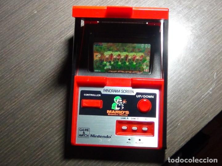 Videojuegos y Consolas: Nintendo Game & Watch - Mario s bombs Away Panaroma Screen TB - 94 - Foto 14 - 136209306