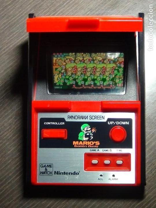 Videojuegos y Consolas: Nintendo Game & Watch - Mario s bombs Away Panaroma Screen TB - 94 - Foto 9 - 136209306