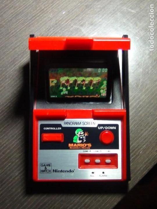 Videojuegos y Consolas: Nintendo Game & Watch - Mario s bombs Away Panaroma Screen TB - 94 - Foto 15 - 136209306