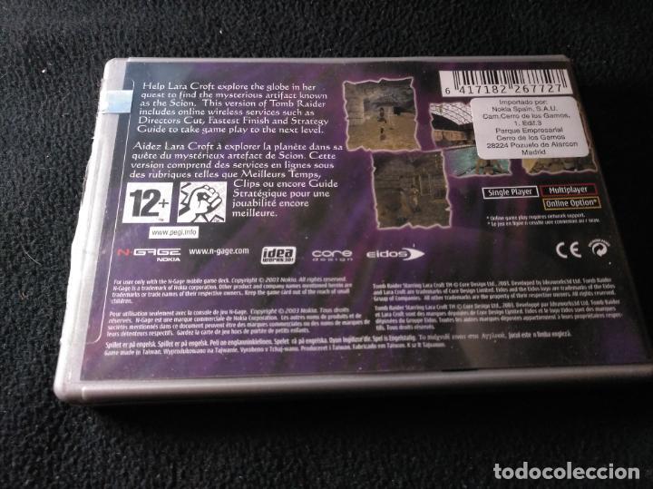 Videojuegos y Consolas: Tomb raider Ngage nokia - Foto 2 - 137103462