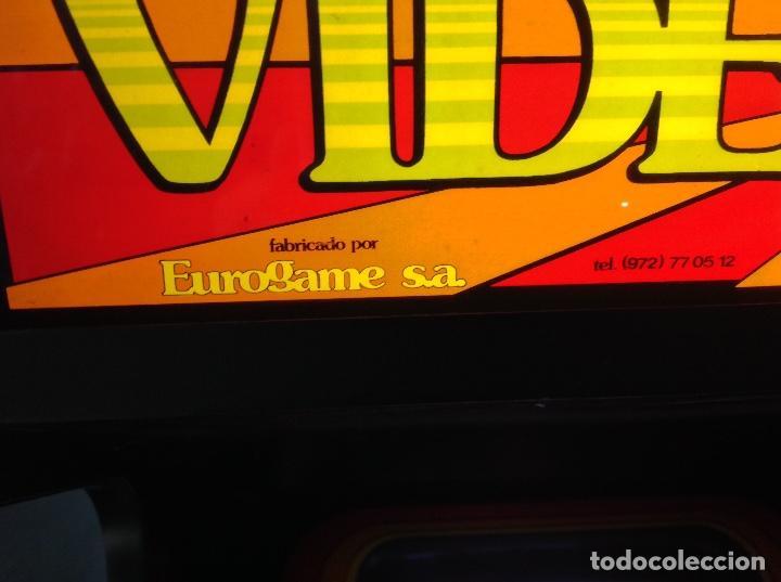 Videojuegos y Consolas: MAQUINA RECREATIVA DE SALON - JUEGO ORIGINAL COMECOCOS AÑO 1980 -81 - EUROGAME S.A. - Foto 8 - 137428366