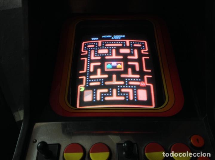 Videojuegos y Consolas: MAQUINA RECREATIVA DE SALON - JUEGO ORIGINAL COMECOCOS AÑO 1980 -81 - EUROGAME S.A. - Foto 11 - 137428366