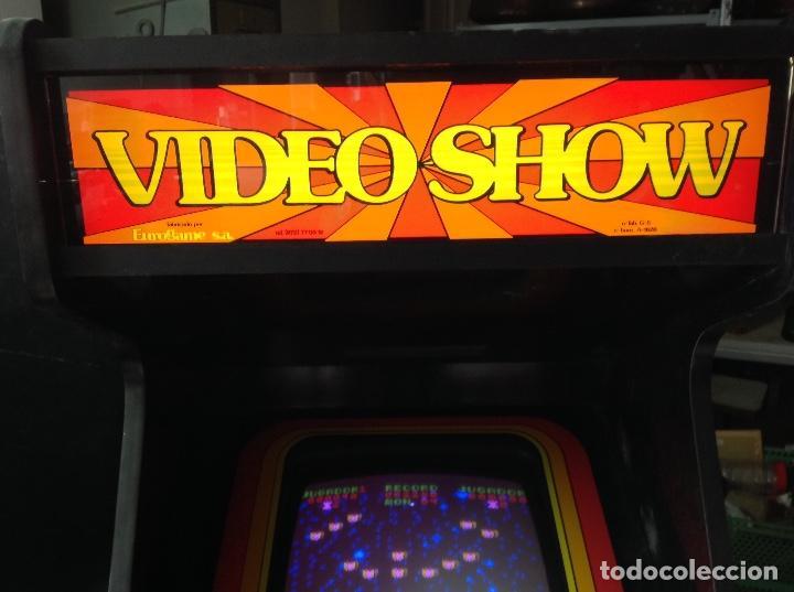 Videojuegos y Consolas: MAQUINA RECREATIVA DE SALON - JUEGO ORIGINAL AVE FENIX AÑO 81 - VIDEO SHOW FABRICADA POR EUROGAME - Foto 7 - 137429042