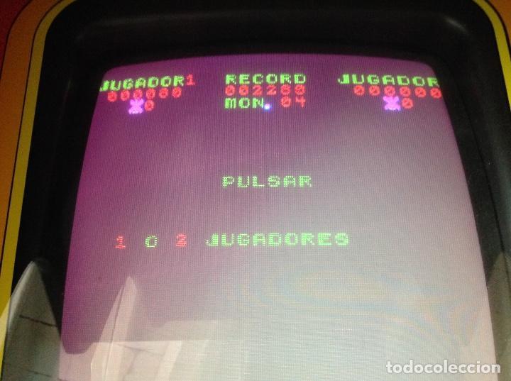 Videojuegos y Consolas: MAQUINA RECREATIVA DE SALON - JUEGO ORIGINAL AVE FENIX AÑO 81 - VIDEO SHOW FABRICADA POR EUROGAME - Foto 11 - 137429042
