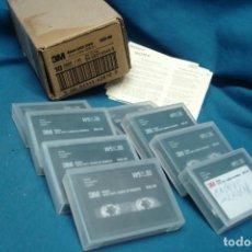 Videojuegos y Consolas: DATA TAPE 4 MM. MARCA 3M - 8 UNIDADES. Lote 137721002