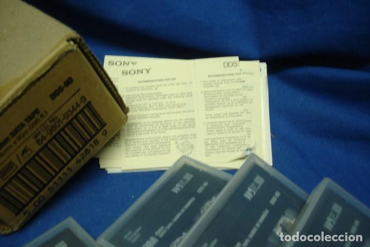 Videojuegos y Consolas: DATA TAPE 4 mm. MARCA 3M - 8 UNIDADES - Foto 2 - 137721002
