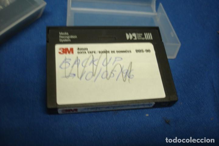 Videojuegos y Consolas: DATA TAPE 4 mm. MARCA 3M - 8 UNIDADES - Foto 3 - 137721002