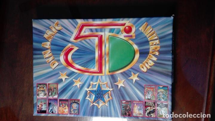 DINAMIC 5 ANIVERSARIO 1989 HUNDRA MEGANOVA (Juguetes - Videojuegos y Consolas - Otros descatalogados)