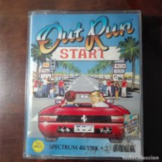 Videojuegos y Consolas: OUT RUN START SPEECTRUM 48/128 K+2. Lote 137848702