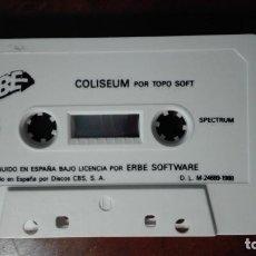 Videojuegos y Consolas: CHICAGO´S Y COLISEUM JUEGOS DE SPECTRUM. Lote 137865834