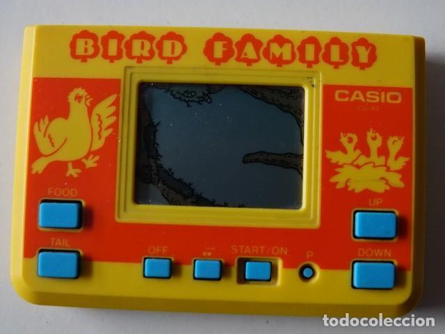 Maquinita De Juegos Bird Family Casio Cg 93 Mad Comprar