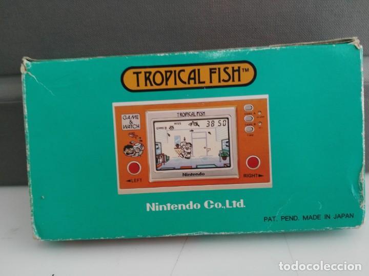 Videojuegos y Consolas: ANTIGUA MAQUINITA GAME WATCH DE NINTENDO EN CAJA TROPICAL FISH - Foto 4 - 138756370