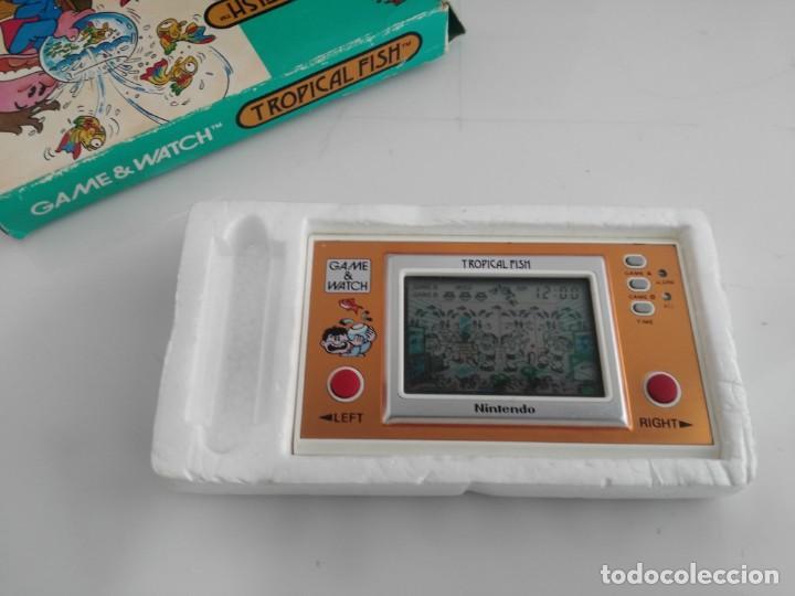 Videojuegos y Consolas: ANTIGUA MAQUINITA GAME WATCH DE NINTENDO EN CAJA TROPICAL FISH - Foto 6 - 138756370