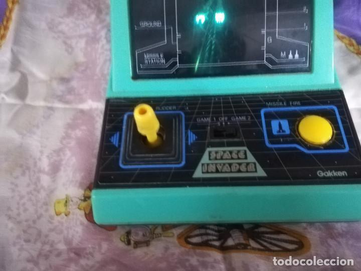 Videojuegos y Consolas: MAQUINA SPACE INVADER GAKKEN FUNCIONA MAQUINITA - Foto 3 - 138780558