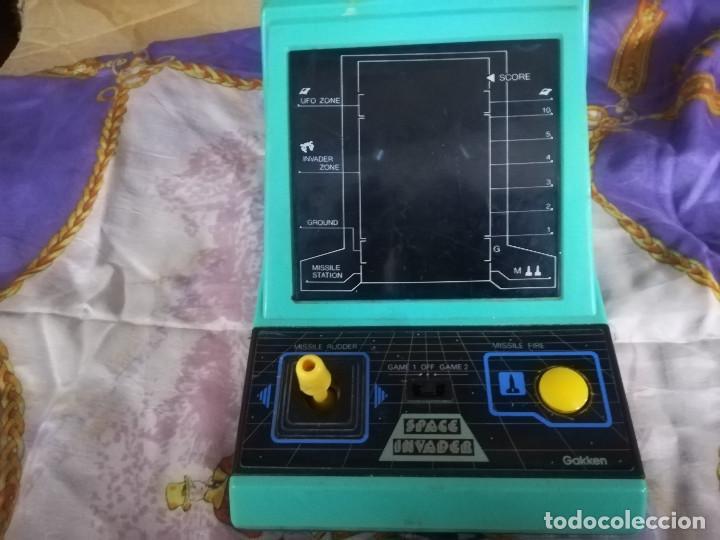 Videojuegos y Consolas: MAQUINA SPACE INVADER GAKKEN FUNCIONA MAQUINITA - Foto 4 - 138780558