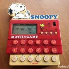 Videojuegos y Consolas: SNOOPY MATH & GAME CANON. Lote 142262104