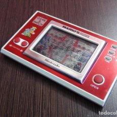 Videojuegos y Consolas: NINTENDO GAME & WATCH MARIO´S CEMENT FACTORY ML-102....VER VIDEO!!!!!. Lote 138868810