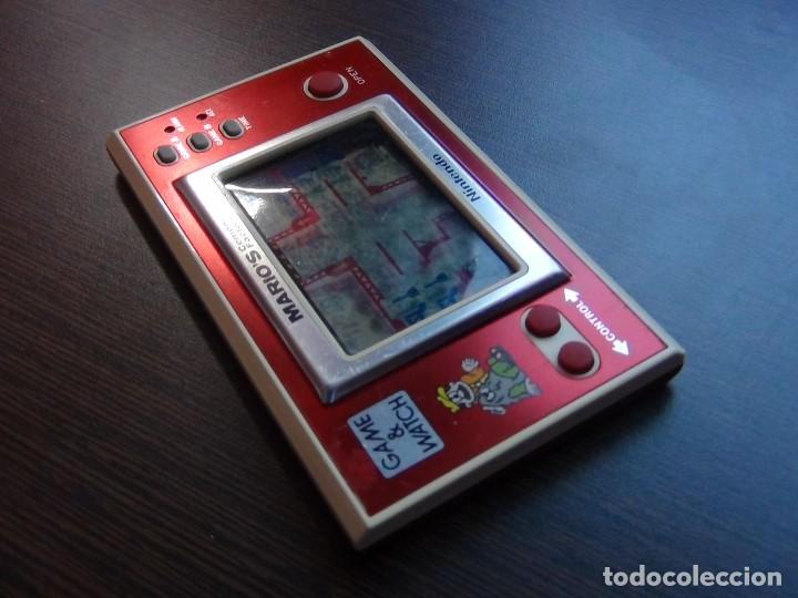 Videojuegos y Consolas: NINTENDO GAME & WATCH MARIO´S CEMENT FACTORY ML-102....VER VIDEO!!!!! - Foto 3 - 138868810