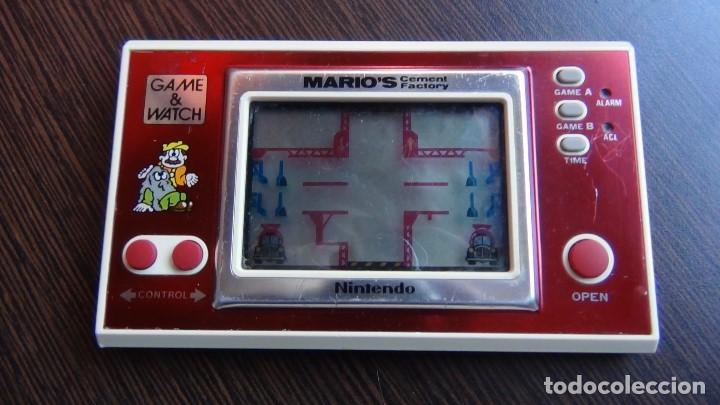 Videojuegos y Consolas: NINTENDO GAME & WATCH MARIO´S CEMENT FACTORY ML-102....VER VIDEO!!!!! - Foto 4 - 138868810
