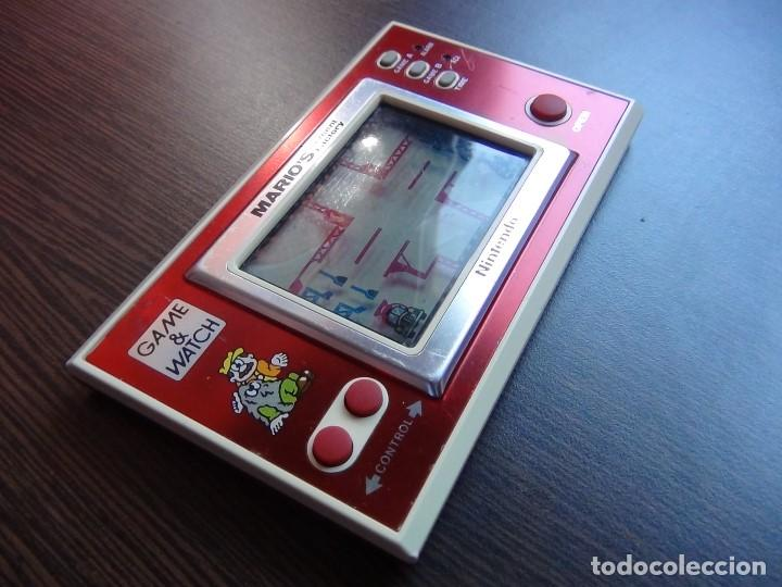 Videojuegos y Consolas: NINTENDO GAME & WATCH MARIO´S CEMENT FACTORY ML-102....VER VIDEO!!!!! - Foto 6 - 138868810