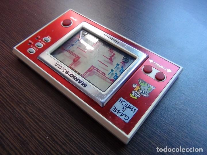 Videojuegos y Consolas: NINTENDO GAME & WATCH MARIO´S CEMENT FACTORY ML-102....VER VIDEO!!!!! - Foto 7 - 138868810
