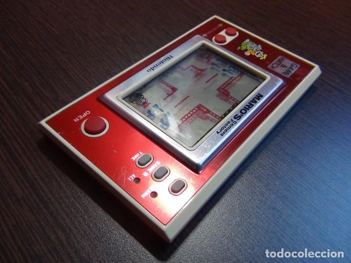 Videojuegos y Consolas: NINTENDO GAME & WATCH MARIO´S CEMENT FACTORY ML-102....VER VIDEO!!!!! - Foto 8 - 138868810