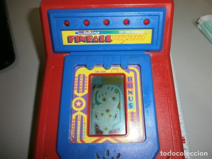 Videojuegos y Consolas: antigua maquinita pinball wizard año 1988 video tecnology hong kong funciona perfectamente - Foto 2 - 138966434