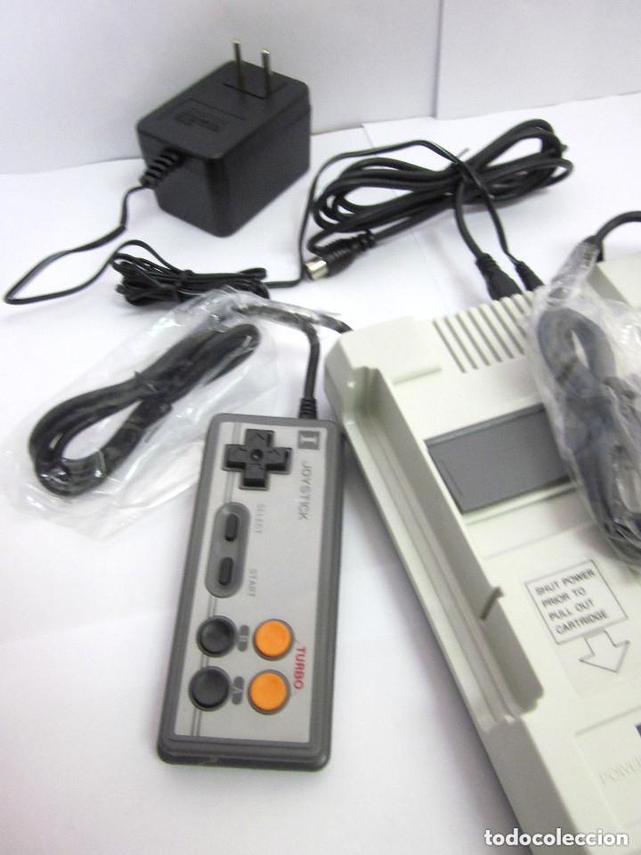 Videojuegos y Consolas: Antigua Consola Video Game Computer dos mandos Tv Ac Adaptor cable adaptador - Foto 2 - 139067942