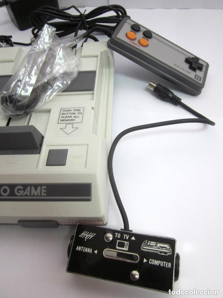 Videojuegos y Consolas: Antigua Consola Video Game Computer dos mandos Tv Ac Adaptor cable adaptador - Foto 3 - 139067942