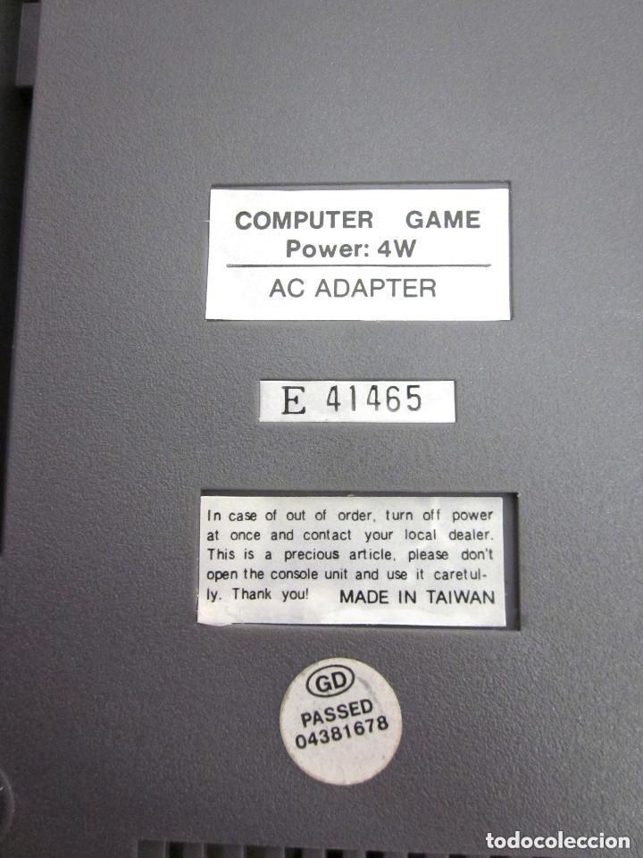 Videojuegos y Consolas: Antigua Consola Video Game Computer dos mandos Tv Ac Adaptor cable adaptador - Foto 4 - 139067942