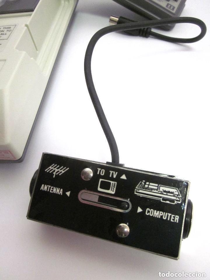 Videojuegos y Consolas: Antigua Consola Video Game Computer dos mandos Tv Ac Adaptor cable adaptador - Foto 5 - 139067942